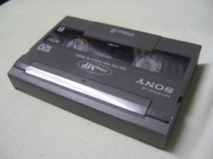 HandyCAM用Hi8カセットテープ